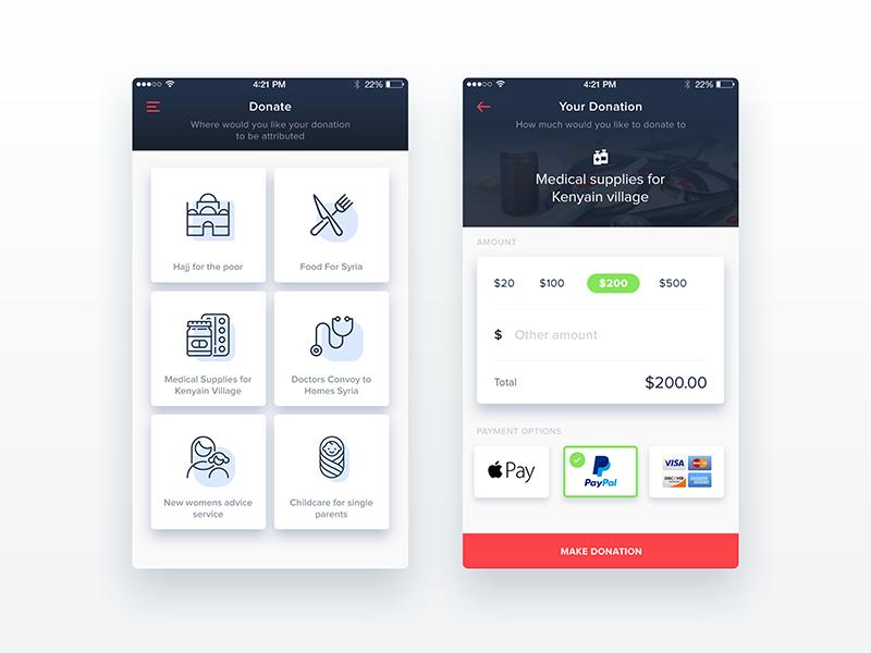iPhone App UI/UX Designing
